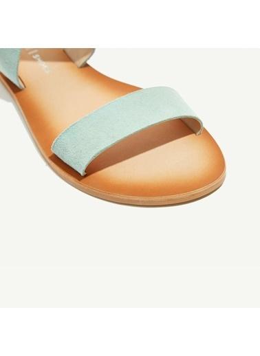 Yargıcı Sandalet Yeşil